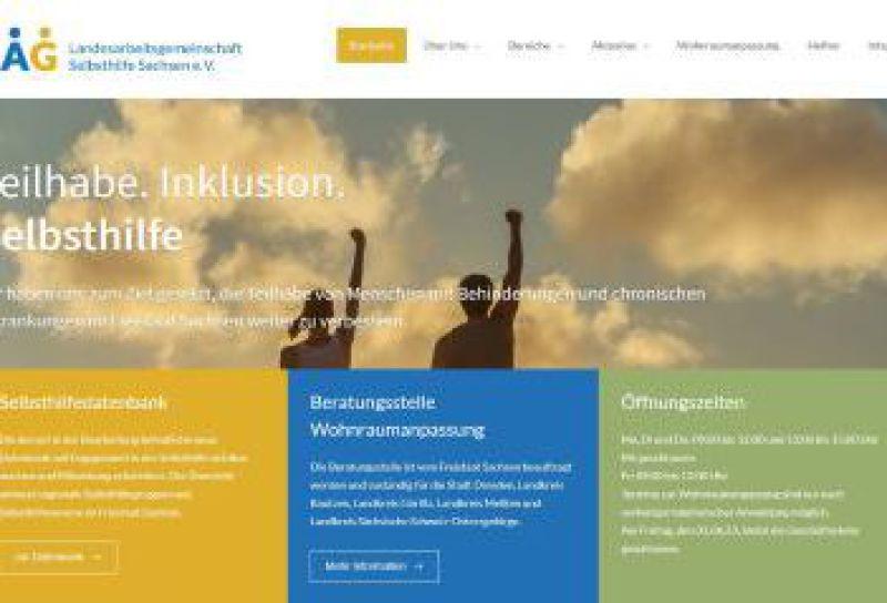 Bild und Link zum Selbsthilfenetzwerk Sachsen